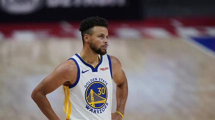 """Stepheno Curry pastangų neužteko: """"Warriors"""" – vėl sutriuškinti"""