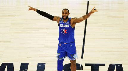 """NBA žvaigždės įvertino """"All-Star"""" mačą: """"Naujovės pasiteisino, o pabaigoj varėm iš visų jėgų"""""""