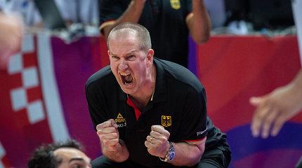 Būsimieji Lietuvos varžovai Europos čempionate atsisveikino su treneriu