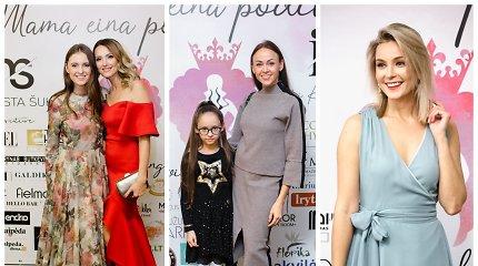 Mamos iš visos Lietuvos žengė mados podiumu