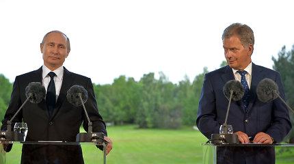Vladimiras Putinas rugpjūčio pabaigoje Sočyje susitiks su Suomijos prezidentu