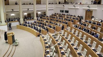 """Ar pustuštis Sakartvelo parlamentas reiškia """"pustuštę"""" demokratiją?"""
