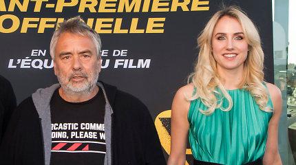 Prancūzų režisieriaus L.Bessono byla dėl įtariamo išžaginimo bus nagrinėjama iš naujo