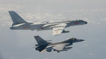 Taivanas apkaltino Kinijos kariuomenės lėktuvus pažeidus salos oro erdvę