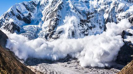 Slovėnijos Alpėse per sniego griūtis žuvo trys žmonės