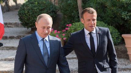 Prancūzija pagyrė Rusijos sprendimą grąžinti Ukrainai perimtus laivus