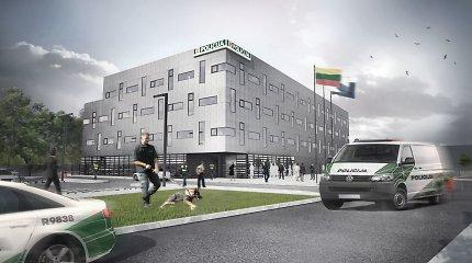 Kaune pradedamos naujojo apskrities policijos komisariato pastato statybos