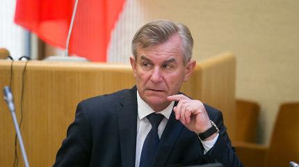 Seimo pirmininko komandoje – pokyčiai