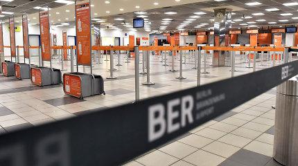 Berlyno oro uosto kilimo ir tūpimo taką blokuoja Vokietijos vyriausybės lėktuvas