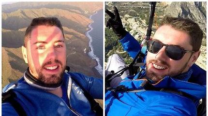 """Tragiškai žuvo """"YouTube"""" žvaigždė Rubenas Carbonellis: neišsiskleidė vyro parašiutas"""
