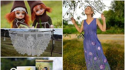 Gimtame kaime apsigyvenusi Edita – apie lėles, ištapytas sukneles ir susigrąžintą laimę