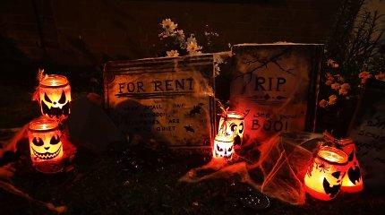 Agnetos sukurtos Helovino dekoracijos
