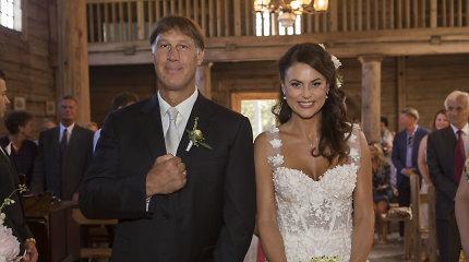 Lauros ir Šarūno Marčiulionių vestuvės