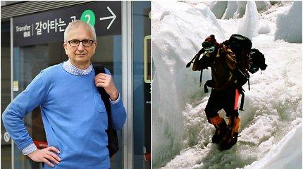"""Knygą apie ekspediciją į Himalajus parašęs A.Kumža: """"Alpinistų gyvenimą nupiešiau tokį, koks jis yra"""""""