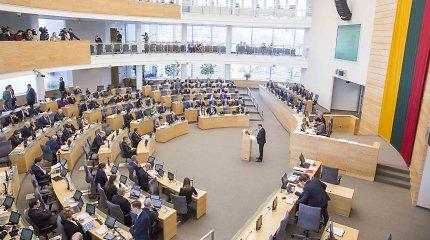 Seimas pakeitė valstybės ir savivaldybės įmonių vadovų skyrimo tvarką