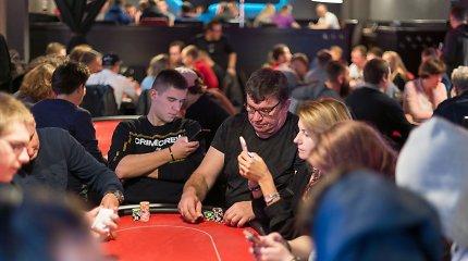 Vilniuje startuoja Lietuvos sportinio pokerio čempionatas
