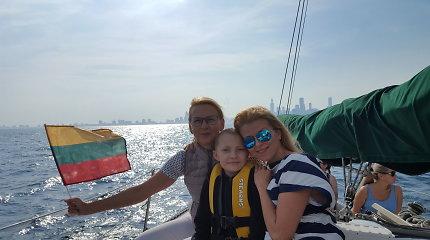 Rūta Mikelkevičiūtė viešėdama Čikagoje siunčia žinią apie pagalbą vėžiu sergantiems vaikams