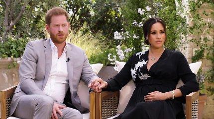 Sasekso hercogai princas Harry ir Meghan Markle
