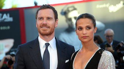Aktorių pora Alicia Vikander ir Michaelas Fassbenderis tapo tėvais