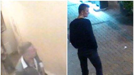 Viešosios tvarkos pažeidimą tirianti Šiaulių policija nori pasikalbėti su šiais vyrais