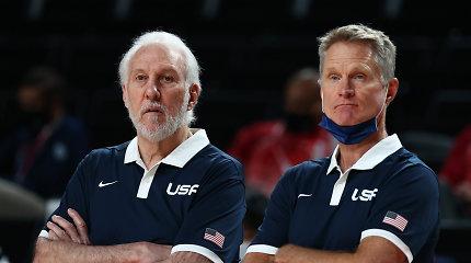 Popo įpėdinis? Aštuoniskart NBA čempioną domina JAV rinktinės trenerio kėdė