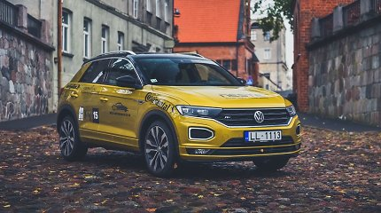 """""""Tautos automobilis 2019"""": miesto mažylis """"Volkswagen T-Roc"""""""