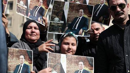 Egipte vyksta Hosni Mubarako laidotuvės