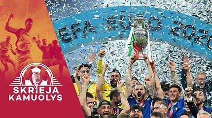 """""""Skrieja kamuolys"""": italų triumfas finale, kodėl Rytis neteko amo, """"Copa America"""" ir mūsų klubai Europoje"""
