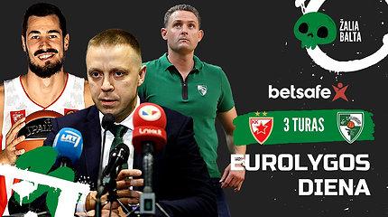 """Sukrėtimas Kaune: kodėl reikėjo permainų ir ką atneš naujas treneris?   """"Eurolygos diena"""""""