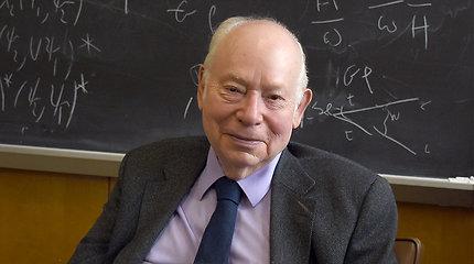 Mirė Nobelio premijos laureatas, fizikas Stevenas Weinbergas