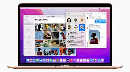 """Naujoji """"macOS Monterey"""" operacinė sistema: patogiausios ir įdomiausios funkcijos"""