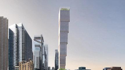 Niujorke projektuojamas aukštyn kojom apverstas dangoraižis – vienas aukščiausių pasaulyje