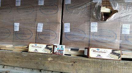 Rusiškų tortų krovinys apkarto – rasta 1,5 mln. eurų verta cigarečių kontrabanda