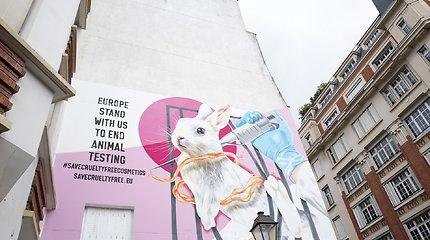 Kosmetikos kompanijų lyderės stoja į kovą prieš eksperimentus su gyvūnais