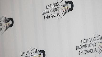 Lietuvos badmintono federacijos spaudos konferencija