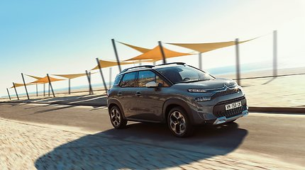 """Atnaujintas """"Citroën C3 Aircross"""" siunčia žinutę komfortą ir praktiškumą vertinantiems vairuotojams"""