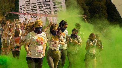 """""""The Color Run"""" bėgimas"""