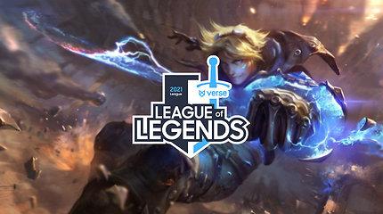 """""""LEAGUE OF LEGENDS VERSE"""" lygos pusiaukelė: kova dėl pirmos vietos ir naudingiausi žaidėjai"""