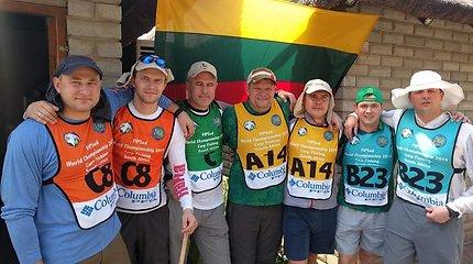 Lietuvos karpininkų rinktinė Pietų Afrikos Respublikoje