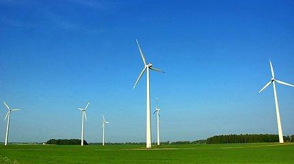 Kauno rajone dygsta vėjo jėgainės