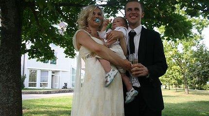 Vidas Bareikio ir Jurgos Šeduikytės vestuvės 2009-aisiais