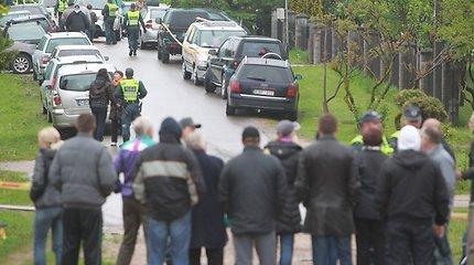Įvykiai Garliavoje gyventojus išvedė į gatvę