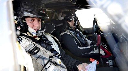 """B.Vanagas ir B.Boba """"FIA World Cup for Cross Country Bajas"""" etape Dubajuje šeštadienį"""