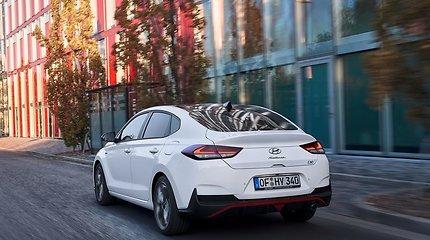 """Sportiškas """"Hyundai i30 Fastback N"""""""