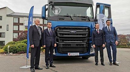 """UAB """"Autokurtas"""" tapo įgaliotu """"Ford Trucks"""" vilkikų atstovu Lietuvoje"""