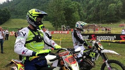 Arūnas Gelažninkas startavo Italijoje vykstančiame Pasaulio Enduro čempionato etape