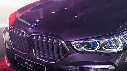 BMW X6 pristatymas Lietuvoje