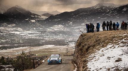 Deivido Jociaus šeštadienis Monte Karlo WRC