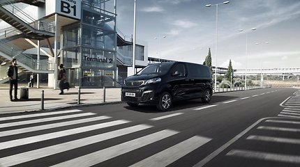 """""""Peugeot"""" pristatė elektrinį autobusiuką"""