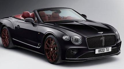 "Lietuvoje parduotas išskirtinis ""Bentley Continental GTC"" by Mulliner 1st. Edition"